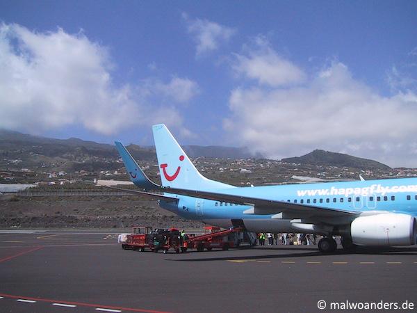 Flughafen Santa Cruz auf La Palma