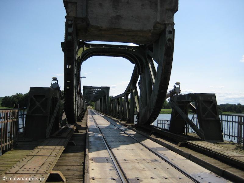 Brücke bei Lindaunis