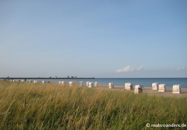 Strand bei Olpenitz