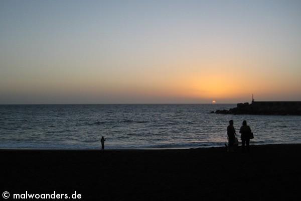 Sonnenuntergang Puerto Tassacorte