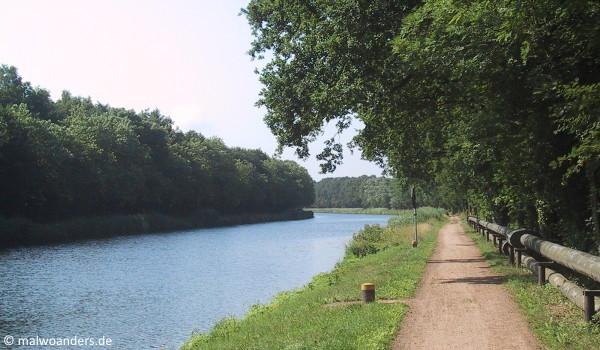 Dortmund-Ems-Kanal hinter Lingen