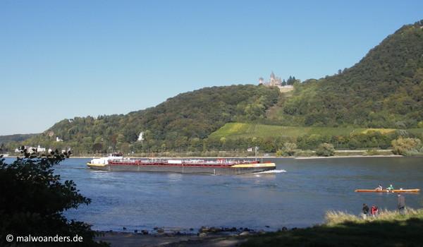 Blick auf Schloss Drachenburg