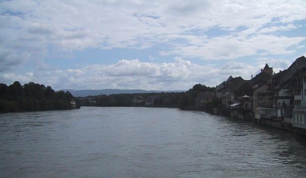 Rhein bei Rheinfelden
