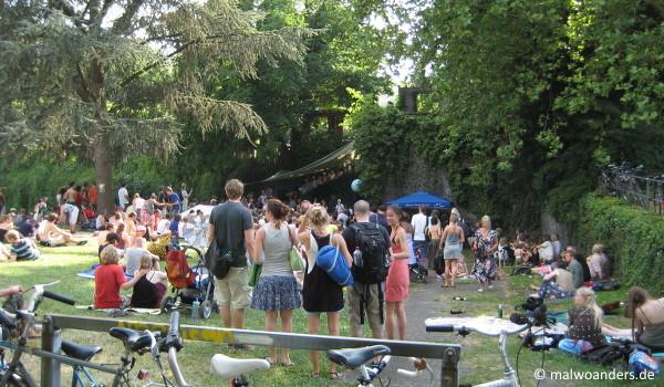 Konzert im Friedenspark