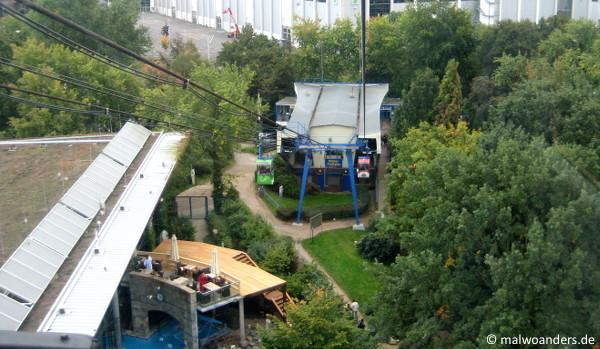 Endpunkt Rheinpark/Claudius Therme