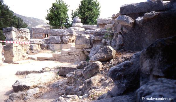 Steine in Knossos