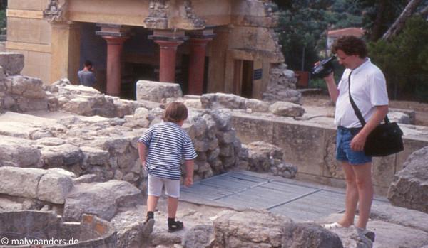 Familie Hoppenstedt in Knossos