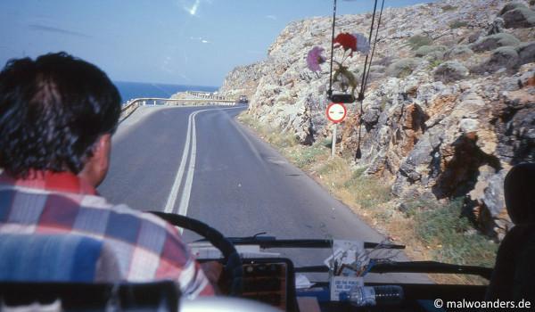 Busfahrt nach Sitia