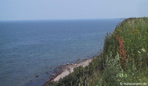 Ausblick von der Steilküste