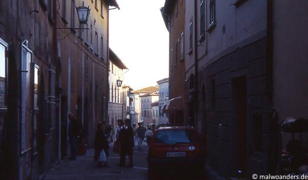 Abends in Siena