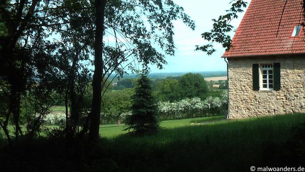 Haus aus Baumberger Sandstein