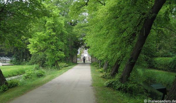 Auffahrt zum Haus Ruhr