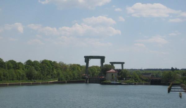 Wesel-Datteln-Kanal bei Flaesheim