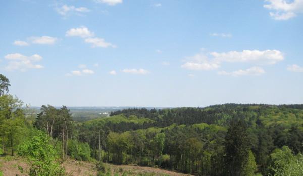 Ausblick beim Aufstieg auf den Rennberg