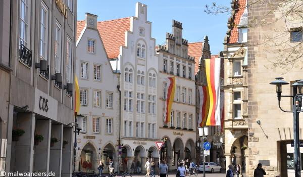 Blick von der Salzstraße auf den Prinzipalmarkt
