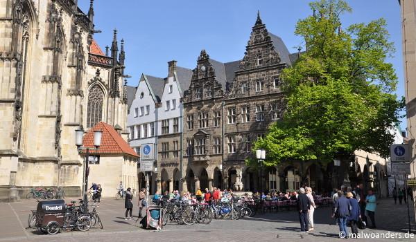 Lambertikirchplatz und Salzstraße