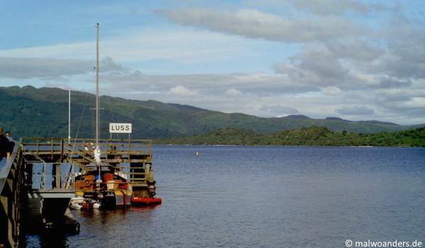 Loch Lomond bei Luss