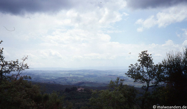 Chianti-Gebiet bei Castellina
