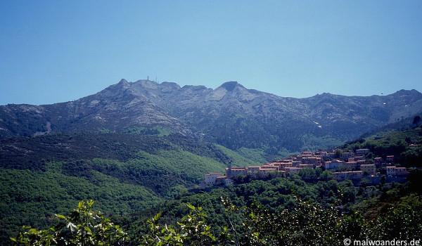 Blick auf den Monte Capanne