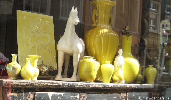 Schaufenster in Amsterdam