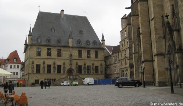 Historisches Rathaus uns St. Marien