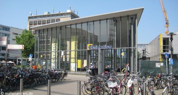 Radstation am Bahnhof Münster