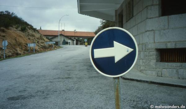 Grenze zu Spanien, bzw. Galizien
