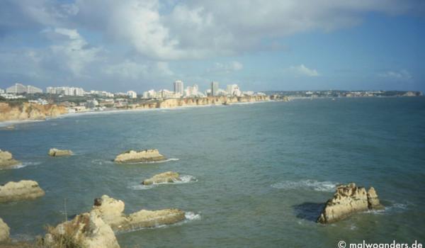 Blick auf Praia da Rocha