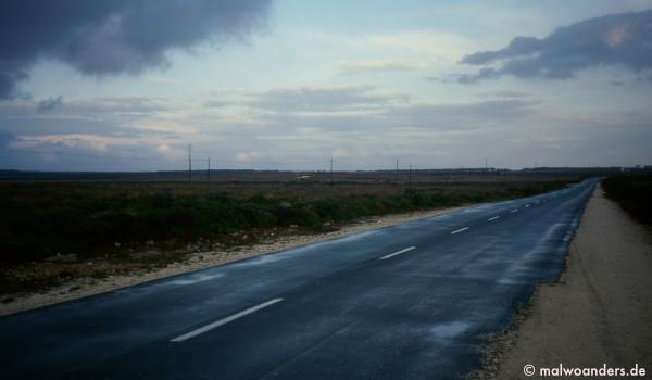 Straße zum  Cabo Sao Vincente